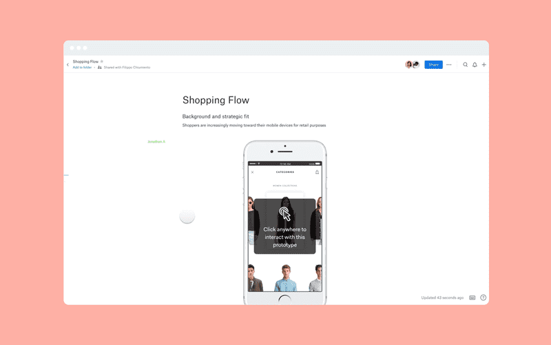 Dropbox Paper for Marvel - Embed website and app prototypes