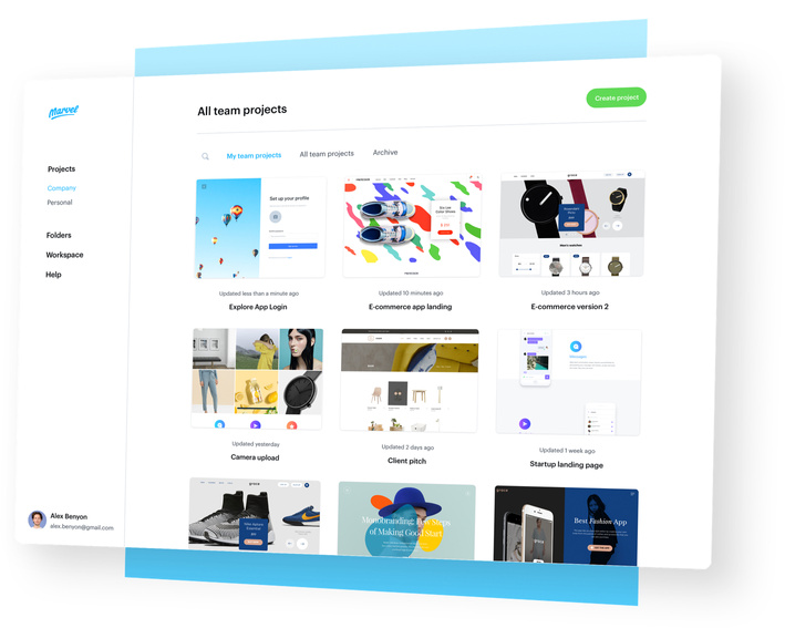 Marvel The Design Platform For Digital Products Get Started For Free