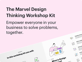 Download our free Design Thinking Workshop Kit
