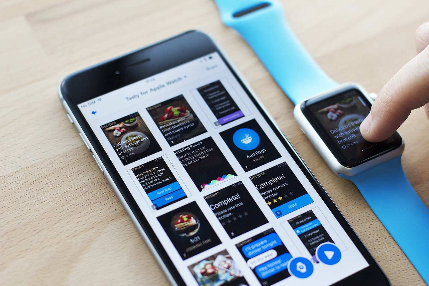 You can now view your sketches and design mockups on the Apple Watch!